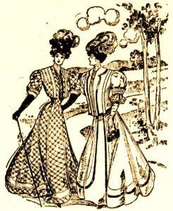 Deux dames fraichepettes