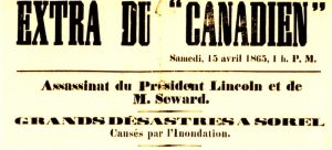 Le Canadien 15 avril 1865