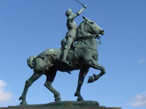 Statue de Jeanne dArc