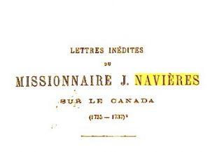 lettre de navieres