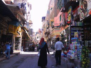 rue du marche a Damietta