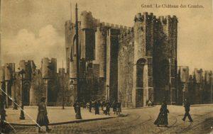 Belgique Gand chateau des Comtes