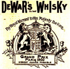 annonce de whisky
