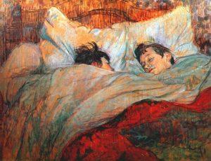 le lit de Lautrec