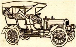 L'automobile de 1906